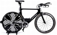 Chrome Hearts x Cervelo Bike. Limited edition for 60,000 dollars.
