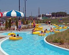 The Lazy River at Cape Splash Family Aquatic Center by Cape Girardeau Convention and Visitors Bureau, via Flickr