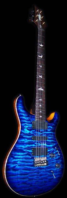 PRS Private Stock custom blue