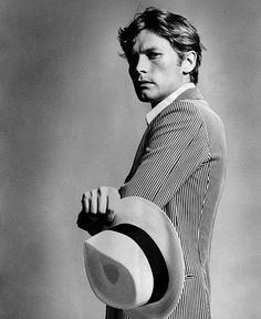 young Helmut Berger.