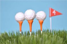 Golf Balls Cake Pops