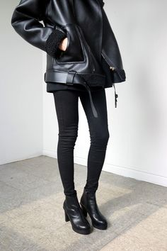 #black #leather