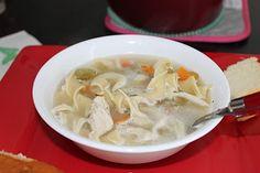 Chicken Noodle Soup in a Crock Pot