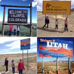 Daddy/Daughters Four Corners Trip