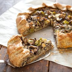 Our Mushroom, Leek, and Gorgonzola Tart is the perfect savory ...