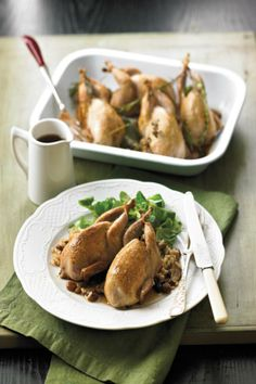 Porcini Quail with Sultanas   ::  Make your own cookbook filled with #GameFarm  #Recipes  #myfoodbook