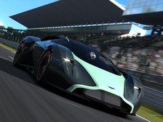 Aston Martin DP-100 Vision Gran Turismo Concept 1024 x 768 wallpaper