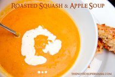 food recipes, soups, appl soup, squash soup, roast squash