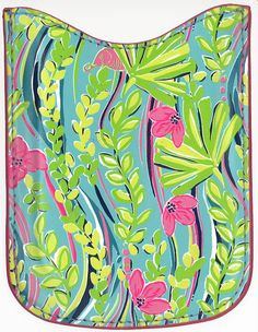Adorable print by Lilly Pulitzer. I love the little elephant hiding in the jungle.