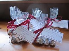 OPen House treat bags for parents