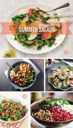 5 Delicious Summer Salads // Mrs. Lilien