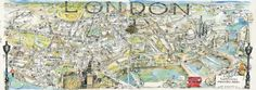 London map by Jonathan Addis