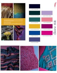 Fall Winter 2013-2014 Fashion Trends Color and Fiber in Women's