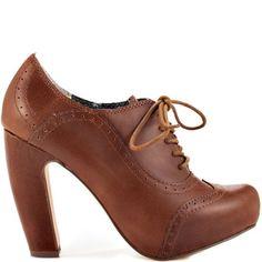 cute fall oxford heels