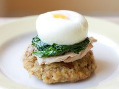 Black Friday Turkey and Poached Eggs by dailycandy #Eggs #Turkey