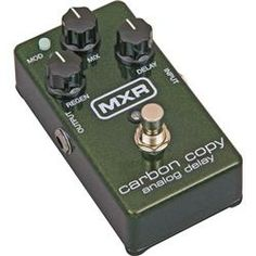 "WANT - ""MXR Carbon Copy Delay Pedal"" A CLASSIC PEDAL. Gives Such a nice analog sound."