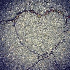 Lacey's concrete heart picture