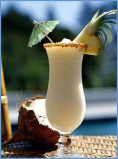 Brazilian coconut batida cocktail recipe