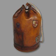 leather sea bag