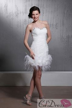 This would make a fanastic wedding dress for a Las Vegas wedding!