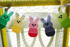 Paint Chip Easter Bunnies - http://www.pbs.org/parents/crafts-for-kids/paint-chip-easter-bunnies/
