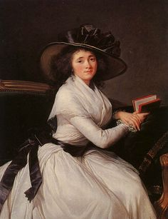 Countess de la Chatre by by Louise-Elisabeth Vigee-Lebrun 1797    If I could have any artist do my portrait it would definitely be her.