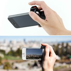 IPHONE SHUTTER GRIP KEEPS YOU SNAPPING LIKE A PRO