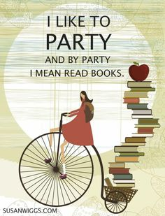 book lovers, party animals, book nerd, read books, librari, book covers, reading books, quot, true stories