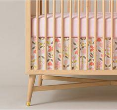 Cute crib...ROSETTE BLOSSOM CRIB SKIRT