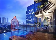 terrac, swimming pools, architects, parks, gardens, architecture, design, singapore, hotels
