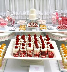 sweet and candy table