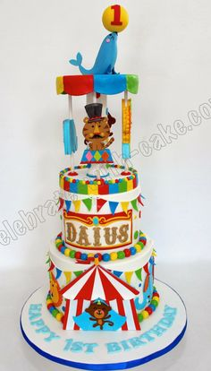 Celebrate with Cake!: Circus