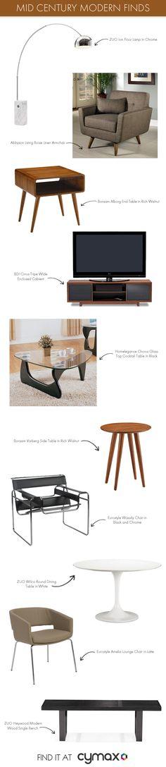 Top Mid Century Modern Furniture #designideas #interiordesign #mcm #midcenturymodern