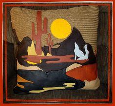 western pillow