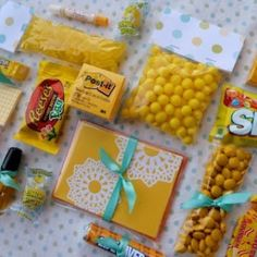 Box of sunshine packaging ideas
