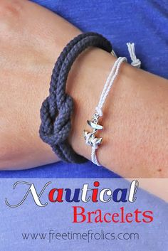 Free Time Frolics: Nautical Bracelets + Life's a Beach Round Up
