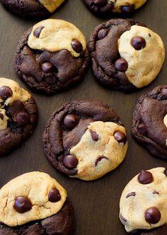 Half and half cookies