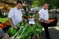 Wednesday midday farmers market -- Chavez Plaza, downtown Sacramento ... follow Chef Oliver of Grange Restaurant to learn shopping tips & cooking suggestions