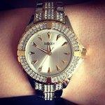 Inlove with my new watch emoji #seksy #watch #new #love