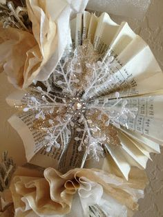 Jenkins Kid Farm: Burlap, White, Silver and Gold Christmas Crafts!