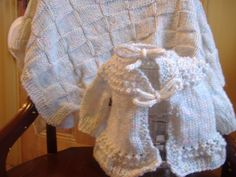 Beautiful basket-weave baby blanket from the blog of #Walmart Mom, Jenn.