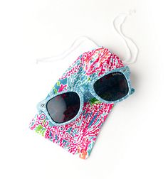 Lilly Pulitzer Madeline Sunglasses & Case $38