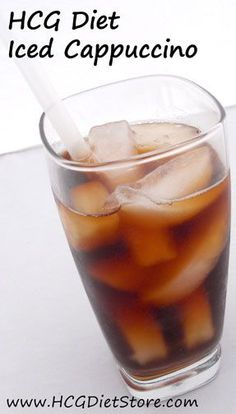 Need a sweet, cool drink while on Phase 2 of HCG??? Try this free HCG recipe!
