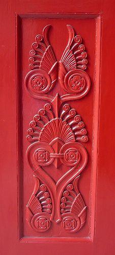 Door Detail: St Pancras Parish Church