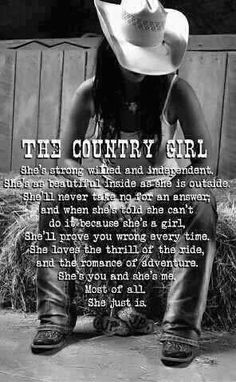The Country Girl...