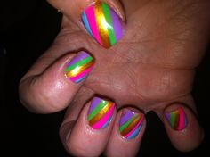 Fruit striped nails