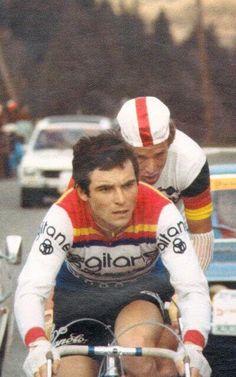 Bernard Hinault en la Paris-Nice de 1977 cc @CiclismoVIP