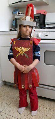 Make a Roman Centurion Costume