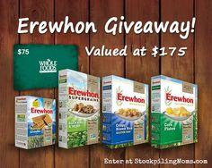 Erewhon Giveaway (Value $175) - Ends 8/31/14