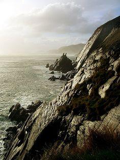 Irish coast.